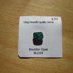 Boulder Opal BLD29